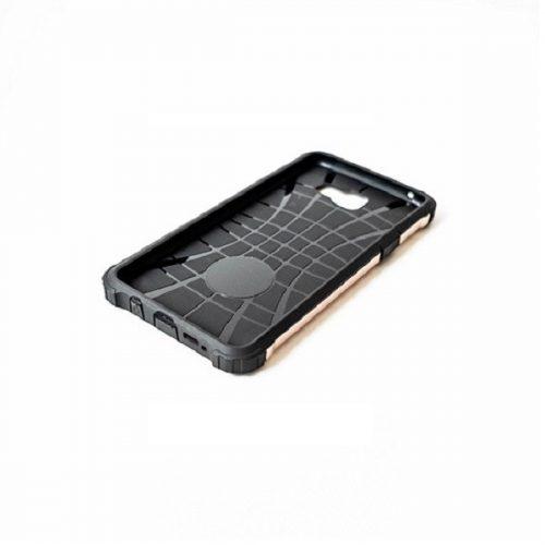 Huawei Honor 30S, Műanyag hátlap védőtok, Defender, fémhatású, vörösarany