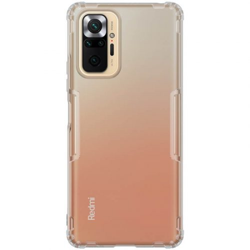 Xiaomi Redmi Note 10 Pro, Szilikon tok, Nillkin Nature, ultravékony, szürke