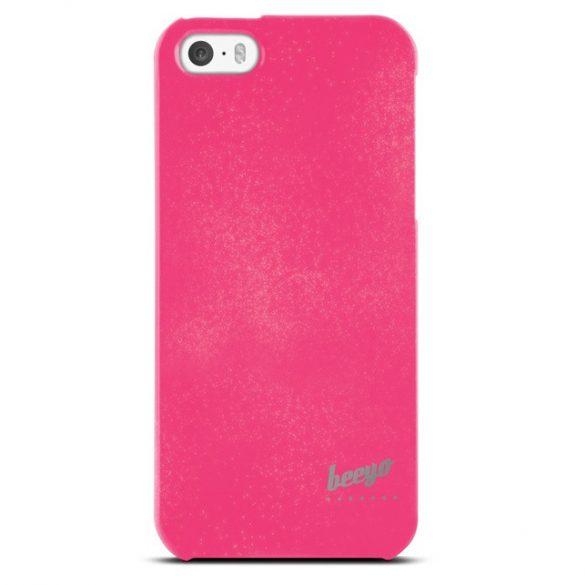 LG K8, TPU szilikon tok, Beeyo Spark, csillámporos, pink