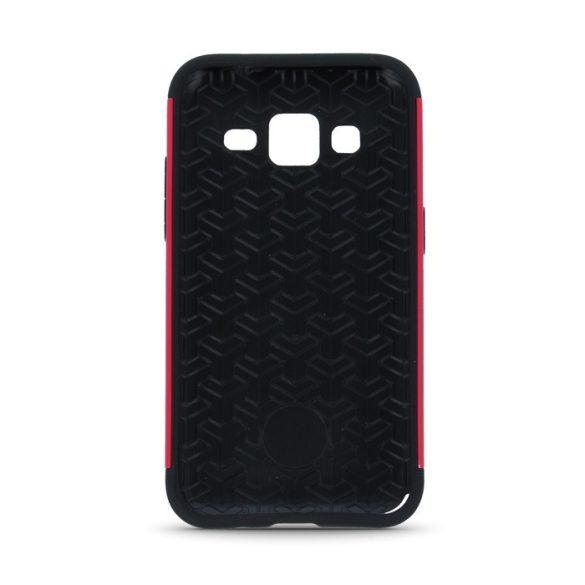 Samsung Galaxy J1 SM-J100F, Műanyag hátlap védőtok, közepesen ütésálló, Beeyo Synergy, pink