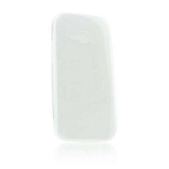LG L90 D405, ultravékony hátlap védőtok, átlátszó