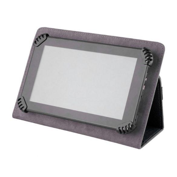 "Univerzális TabletPC tok, mappa tok, 7-8"", stand, fekete"