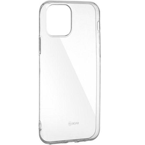 Huawei P Smart Plus (2019), Szilikon tok, Jelly Case, Roar, átlátszó
