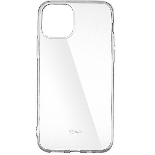 Huawei P40, Szilikon tok, Jelly Case, Roar, átlátszó