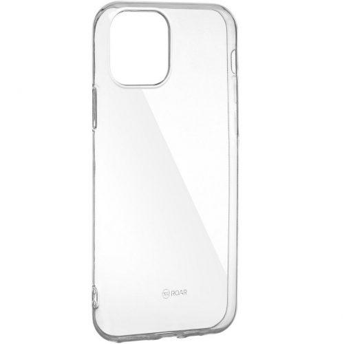 LG G8 ThinQ G820Q, Szilikon tok, Jelly Case, Roar, átlátszó