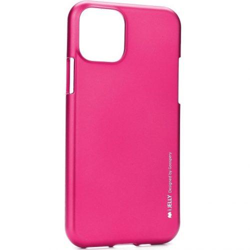 Samsung Galaxy S20 Ultra 5G SM-G988, Szilikon tok, Mercury i-Jelly, matt hatású, pink