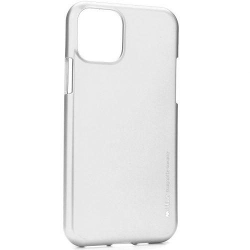 Samsung Galaxy S20 Ultra 5G SM-G988, Szilikon tok, Mercury i-Jelly, matt hatású, ezüst