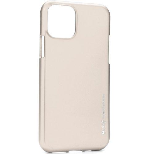 Samsung Galaxy S20 Ultra 5G SM-G988, Szilikon tok, Mercury i-Jelly, matt hatású, arany