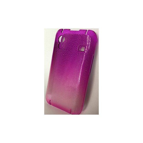 Samsung Galaxy Nexus i9250, Műanyag hátlap védőtok, Raindrop, lila