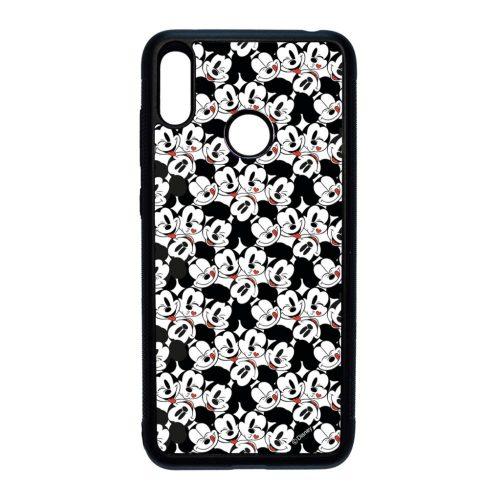 Disney Mickey Mouse Love - Huawei Y7 2019 fekete szilikon tok