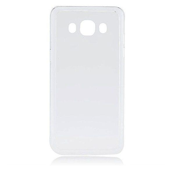 LG K10, Műanyag hátlap védőtok + szilikon védőkeret, Outline, áttetsző
