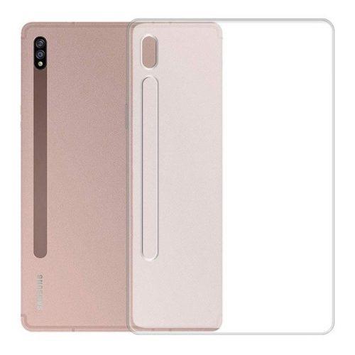 Samsung Galaxy Tab S7 11.0 SM-T870 / T875 / T876B, Szilikon tok, áttetsző