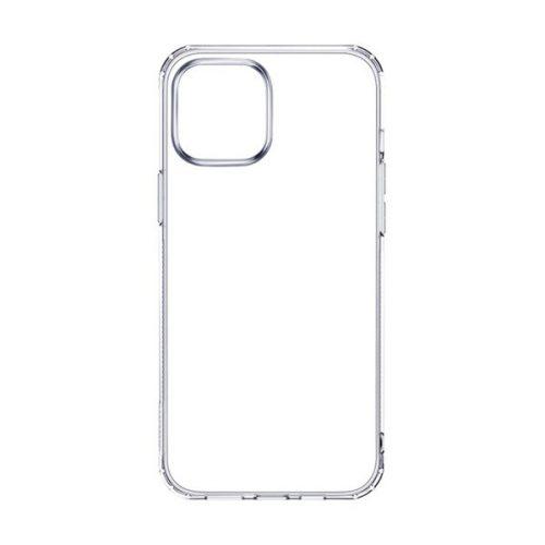 Apple iPhone 12 / 12 Pro, Szilikon tok, ultravékony, Joyroom, átlátszó