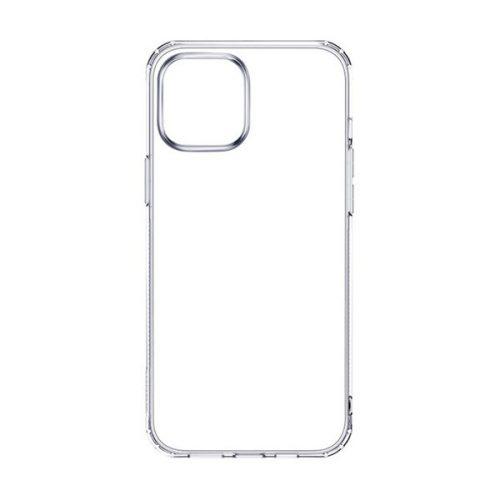 Apple iPhone 12 Pro Max, Szilikon tok, ultravékony, Joyroom, átlátszó