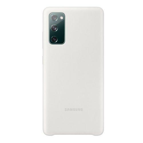 Samsung Galaxy S20 FE / S20 FE 5G SM-G780 / G781, Szilikon tok, fehér, gyári