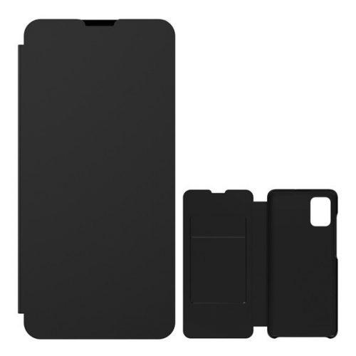 Samsung Galaxy A51 SM-A515F, Oldalra nyíló tok, fekete, gyári