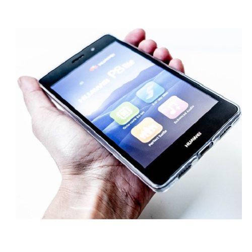 Samsung Galaxy A12 SM-A125F, Szilikon tok, ultravékony, átlátszó