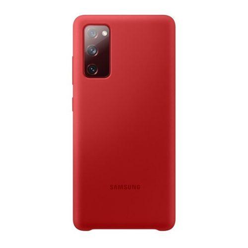 Samsung Galaxy S20 FE / S20 FE 5G SM-G780 / G781, Szilikon tok, piros, gyári