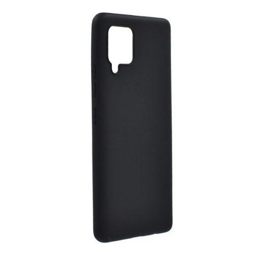 Samsung Galaxy A42 5G SM-A426B, Szilikon tok, fekete