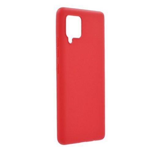 Samsung Galaxy A42 5G SM-A426B, Szilikon tok, piros