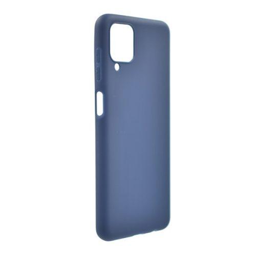 Samsung Galaxy A12 SM-A125F, Szilikon tok, sötétkék
