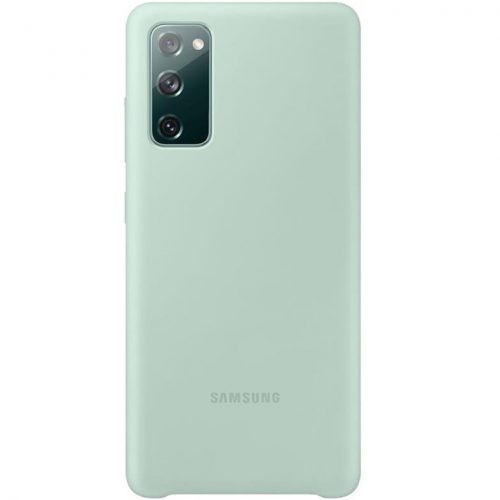 Samsung Galaxy S20 FE / S20 FE 5G SM-G780 / G781, Szilikon tok, menta, gyári