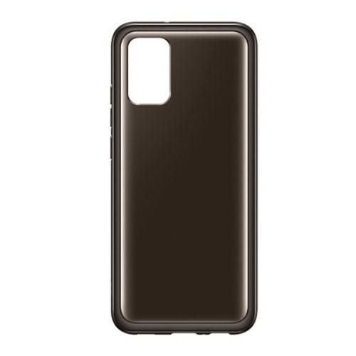 Samsung Galaxy A02s / M02s SM-A025F / M025F, Szilikon tok, fekete, gyári