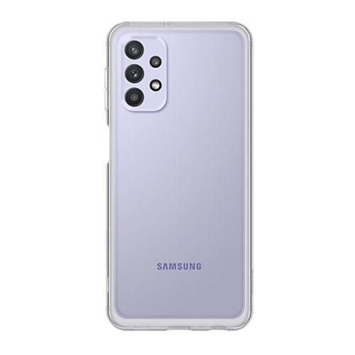 Samsung Galaxy A32 5G SM-A326B, Szilikon tok, átlátszó, gyári