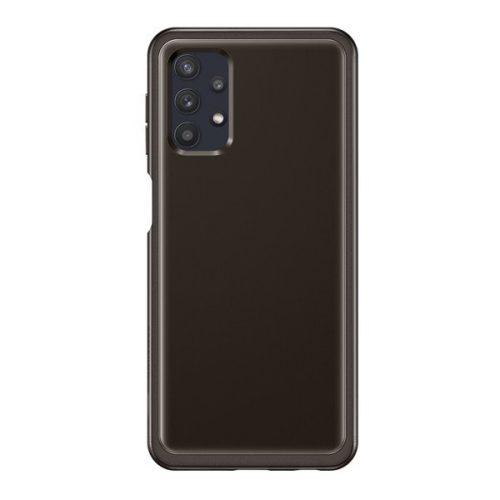 Samsung Galaxy A32 5G SM-A326B, Szilikon tok, fekete, gyári