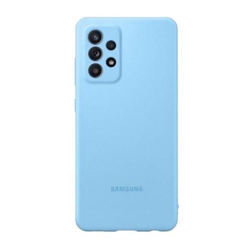 Samsung Galaxy A52 / A52 5G SM-A525F / A526B, Szilikon tok, kék, gyári