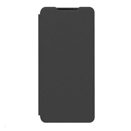 Samsung Galaxy A42 5G SM-A426B, Oldalra nyíló tok, fekete, gyári