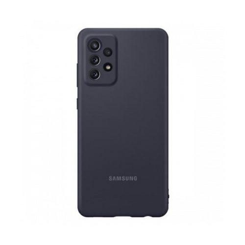 Samsung Galaxy A72 / A72 5G SM-A725F / A726B, Szilikon tok, fekete, gyári