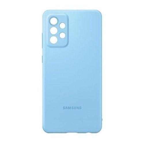 Samsung Galaxy A72 / A72 5G SM-A725F / A726B, Szilikon tok, kék, gyári