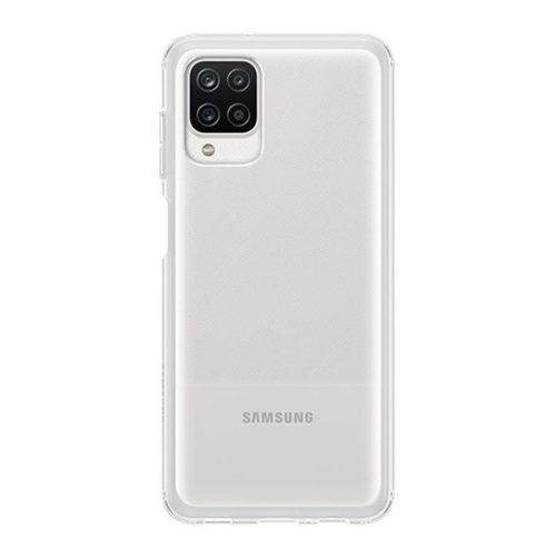 Samsung Galaxy A12 SM-A125F, Szilikon tok, átlátszó, gyári