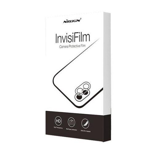 Samsung Galaxy S21 5G SM-G991, Kamera lencsevédő fólia, ütésálló fólia, Tempered Glass (edzett üveg), Nillkin Amazing InvisiFilm AR, Clear