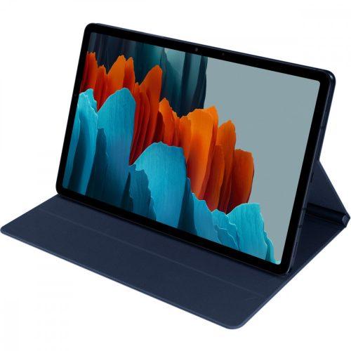 Samsung Galaxy Tab S7 11.0 SM-T870 / T875 / T876B, mappa tok, érintőceruza tartó, sötétkék, gyári