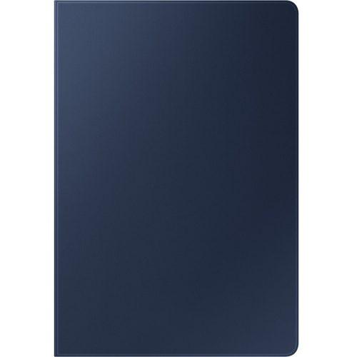 Samsung Galaxy Tab S7 Plus 12.4 SM-T970 / T976B, mappa tok, érintőceruza tartó, sötétkék, gyári
