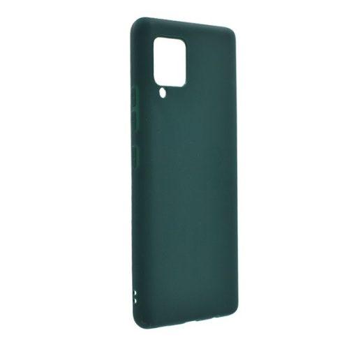 Samsung Galaxy A42 5G SM-A426B, Szilikon tok, sötétzöld