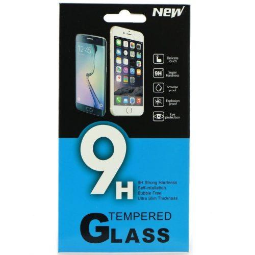Nokia G10 / G20, Kijelzővédő fólia, ütésálló fólia (az íves részre NEM hajlik rá!), Tempered Glass (edzett üveg), Clear
