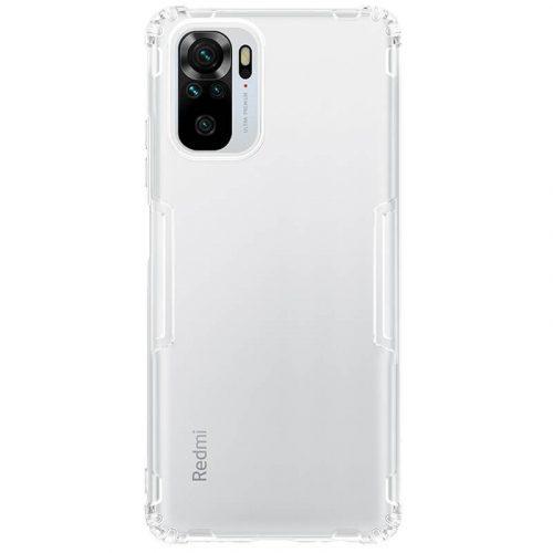 Xiaomi Redmi Note 10 / Note 10S, Szilikon tok, Nillkin Nature, ultravékony, átlátszó