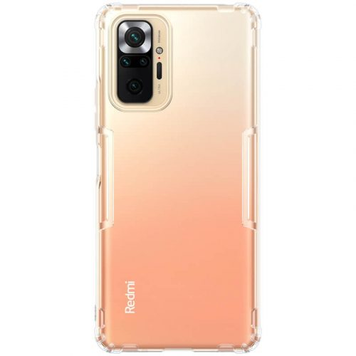 Xiaomi Redmi Note 10 Pro, Szilikon tok, Nillkin Nature, ultravékony, átlátszó
