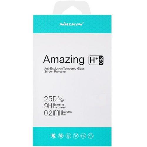 Samsung Galaxy S21 FE 5G SM-G990, Kijelzővédő fólia, ütésálló fólia (az íves részre NEM hajlik rá!), Nillkin, Tempered Glass (edzett üveg), H+ PRO, Clear
