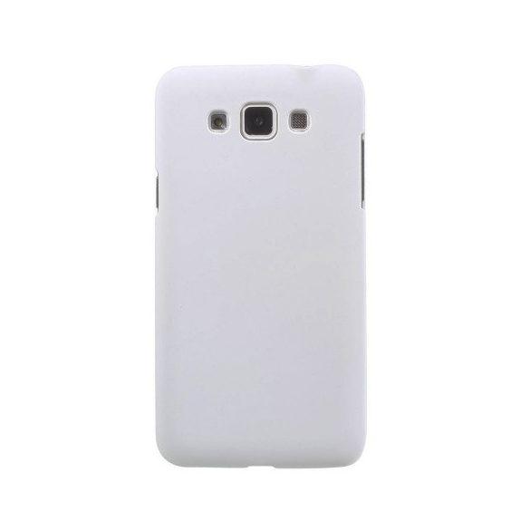 Samsung Galaxy Grand 3 SM-G7200, Műanyag hátlap védőtok, fehér