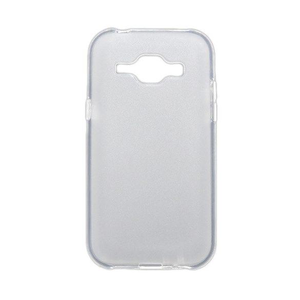 Samsung Galaxy J1 SM-J100F, TPU szilikon tok, áttetsző