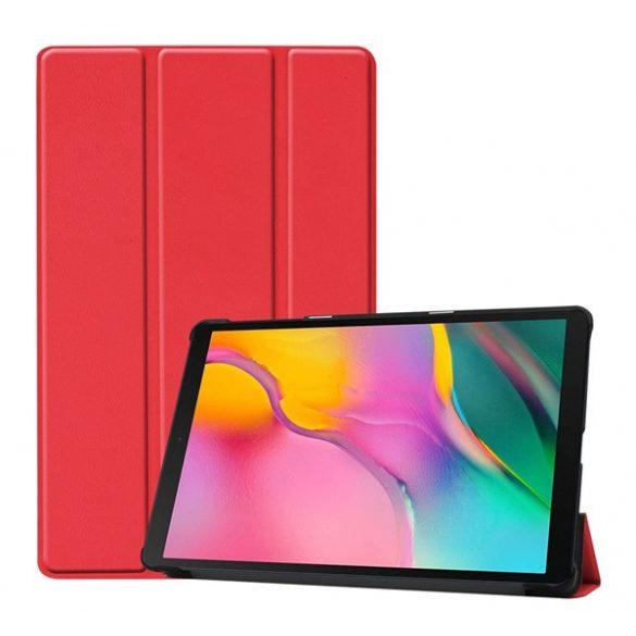 Samsung Galaxy Tab A 10.1 (2019) SM-T510 / T515, mappa tok, Trifold, piros