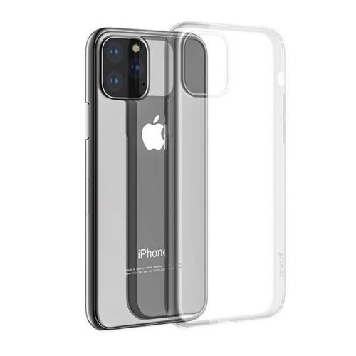 Apple iPhone 11 Pro, Szilikon tok, ultravékony, Hoco Light, átlátszó