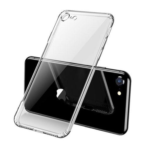 Apple iPhone 7 / 8 / SE (2020), Szilikon tok, ultravékony, Joyroom, átlátszó