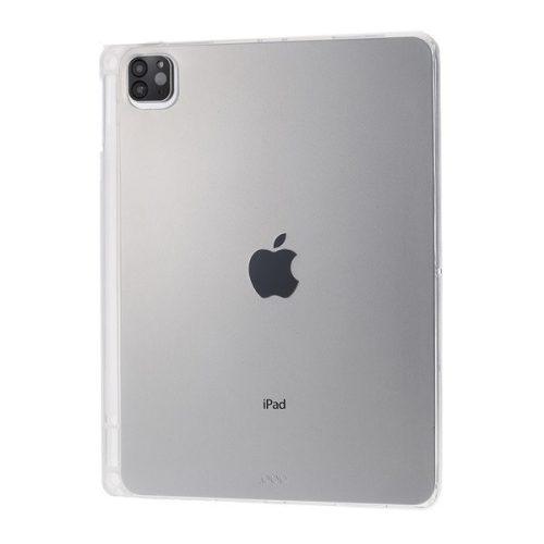 Apple iPad Pro 12.9 (2020), Szilikon tok, ultravékony, átlátszó