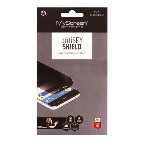 Samsung Galaxy A51 SM-A515F, Kijelzővédő fólia (az íves részre NEM hajlik rá!), betekintés elleni védelem, MyScreen Protector AntiSpy Shield, Clear Prémium