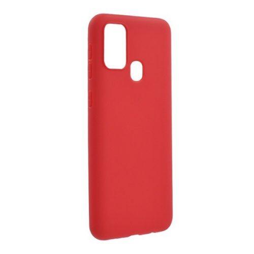 Samsung Galaxy M31 SM-M315F, Szilikon tok, piros